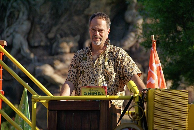 Disney's Animal Kingdom - Joe Rohde, lead designer and Senior Vice President, Creative Executive, Walt Disney Imagineering.
