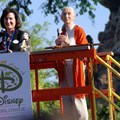 Disney&#39;s Animal Kingdom - Dr Jane Goodall at Animal Kingdom&#39;s 10th Anniversary.