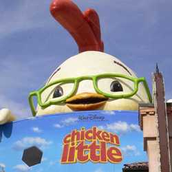 Giant Chicken Little promo