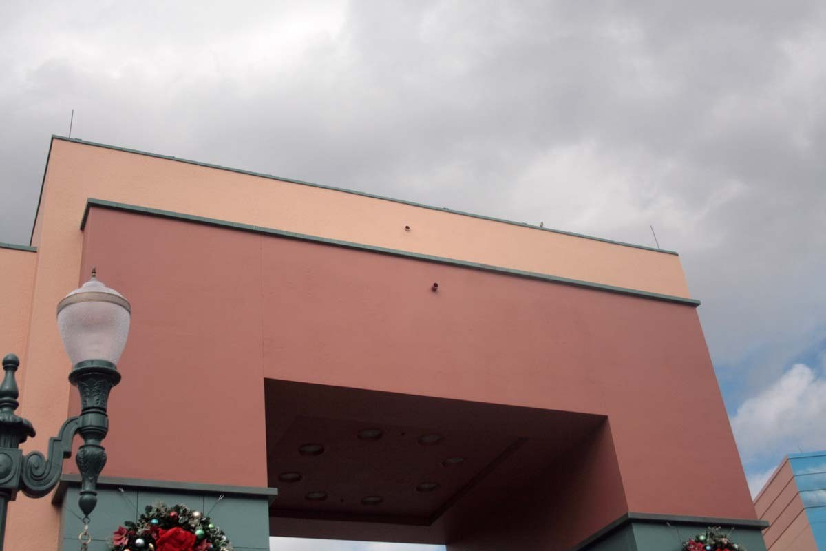 Disney-MGM Studios signage removed from the Animation Courtyard Arch