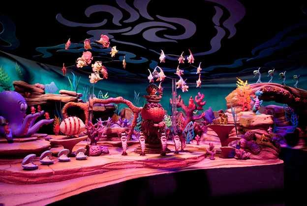 Ariel's Adventure show scene model