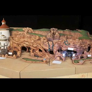 10 of 23: Under the Sea - Journey of the Little Mermaid - Under the Sea - Journey of the Little Mermaid concept art and models