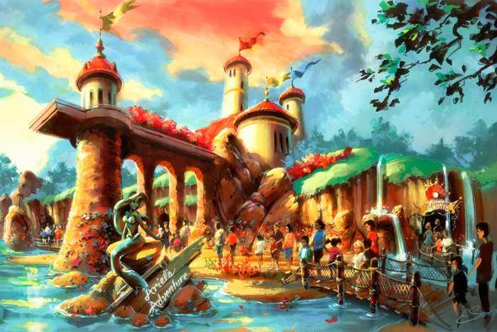 Ariel's Adventure concept art
