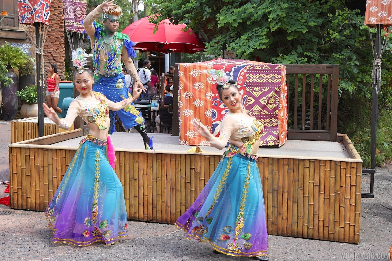 Asia Dancers opening day