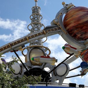 1 of 2: Astro Orbiter - Astro Orbitor reopens