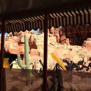 3 of 10: Big Thunder Mountain Railroad - Big Thunder Mountain Railroad refurbishment