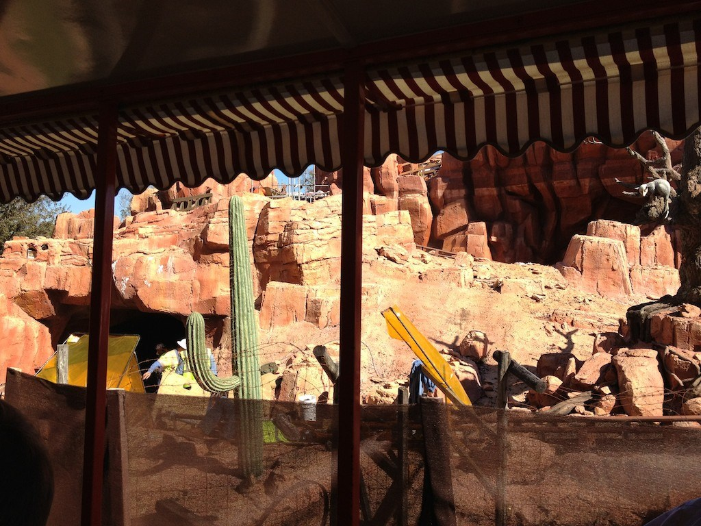 Big Thunder Mountain Railroad refurbishment