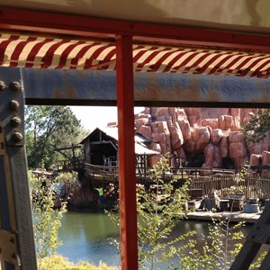 5 of 10: Big Thunder Mountain Railroad - Big Thunder Mountain Railroad refurbishment