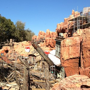 6 of 10: Big Thunder Mountain Railroad - Big Thunder Mountain Railroad refurbishment