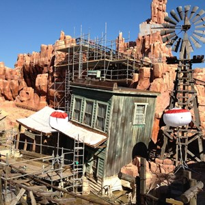 7 of 10: Big Thunder Mountain Railroad - Big Thunder Mountain Railroad refurbishment