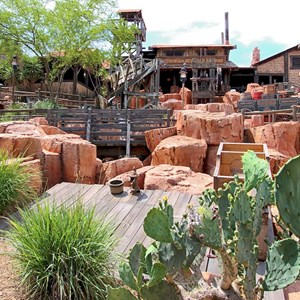 1 of 3: Big Thunder Mountain Railroad - Big Thunder Mountain post refurbishment