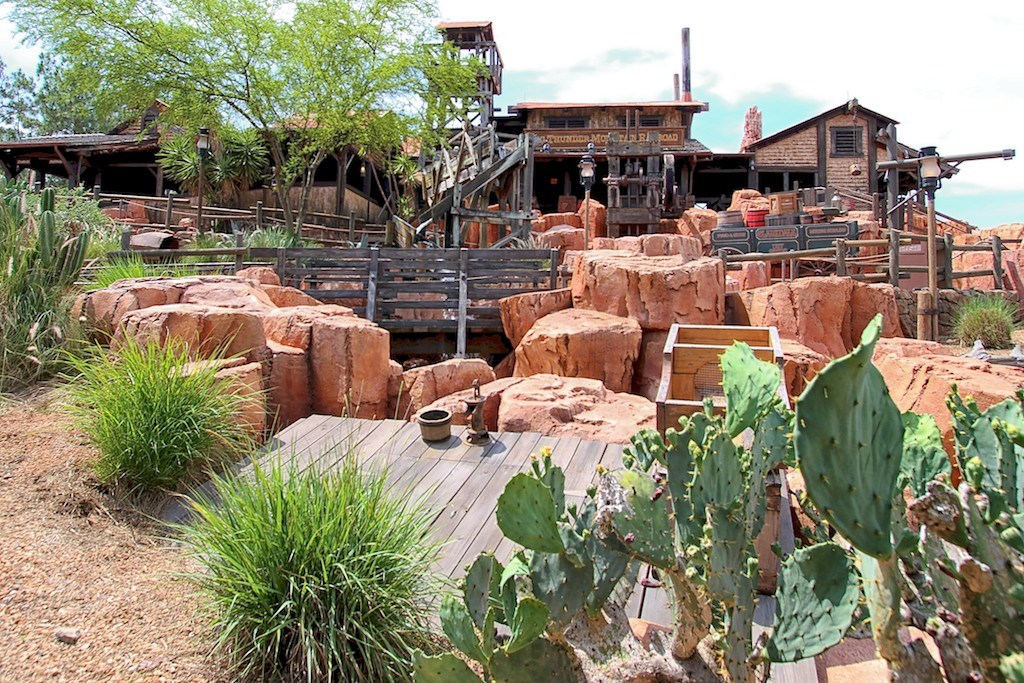 Big Thunder Mountain post refurbishment