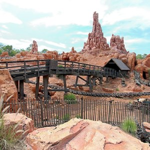 3 of 3: Big Thunder Mountain Railroad - Big Thunder Mountain post refurbishment
