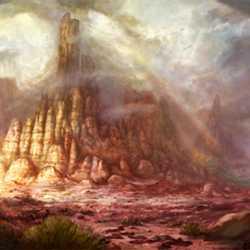 Enhanced Big Thunder Mountain backstory art