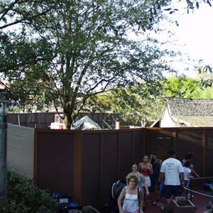 1 of 4: Big Thunder Mountain Railroad - FASTPASS construction at Big Thunder Mountain