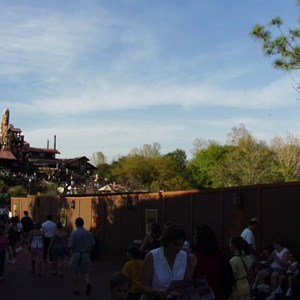 2 of 4: Big Thunder Mountain Railroad - FASTPASS construction at Big Thunder Mountain