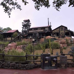 1 of 14: Big Thunder Mountain Railroad - Big Thunder Mountain refurbishment