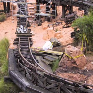 3 of 14: Big Thunder Mountain Railroad - Big Thunder Mountain refurbishment