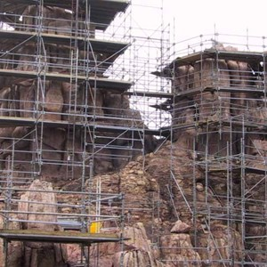 4 of 14: Big Thunder Mountain Railroad - Big Thunder Mountain refurbishment
