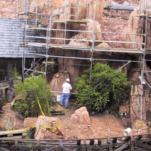 5 of 14: Big Thunder Mountain Railroad - Big Thunder Mountain refurbishment