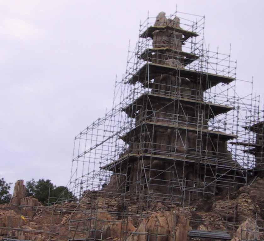 Big Thunder Mountain refurbishment