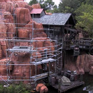7 of 14: Big Thunder Mountain Railroad - Big Thunder Mountain refurbishment