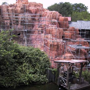 8 of 14: Big Thunder Mountain Railroad - Big Thunder Mountain refurbishment
