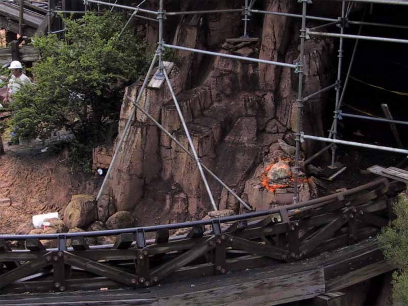 Big Thunder Mountain refurbishment