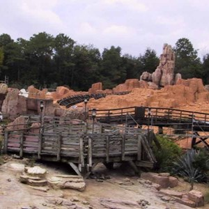 11 of 14: Big Thunder Mountain Railroad - Big Thunder Mountain refurbishment