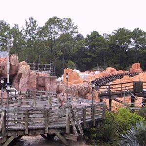 13 of 14: Big Thunder Mountain Railroad - Big Thunder Mountain refurbishment