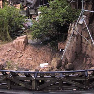 14 of 14: Big Thunder Mountain Railroad - Big Thunder Mountain refurbishment