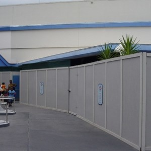 2 of 3: Buzz Lightyear's Space Ranger Spin - Buzz Lightyears Space Ranger Spin gift shop construction