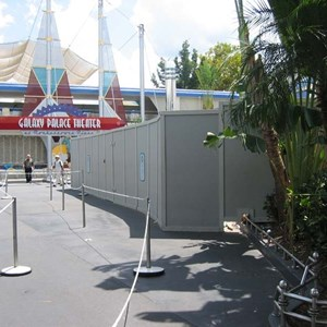2 of 7: Buzz Lightyear's Space Ranger Spin - Buzz Lightyears Space Ranger Spin gift shop construction