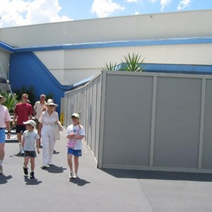 3 of 7: Buzz Lightyear's Space Ranger Spin - Buzz Lightyears Space Ranger Spin gift shop construction