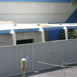Buzz Lightyears Space Ranger Spin gift shop construction