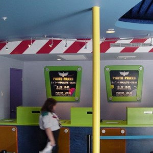 3 of 5: Buzz Lightyear's Space Ranger Spin - Buzz Lightyears Space Ranger Spin gift shop now complete