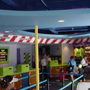 4 of 5: Buzz Lightyear's Space Ranger Spin - Buzz Lightyears Space Ranger Spin gift shop now complete