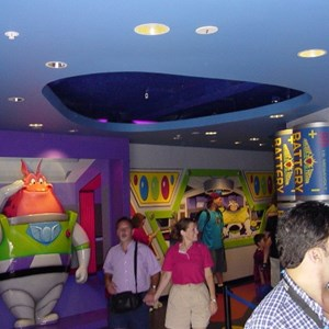 5 of 5: Buzz Lightyear's Space Ranger Spin - Buzz Lightyears Space Ranger Spin gift shop now complete