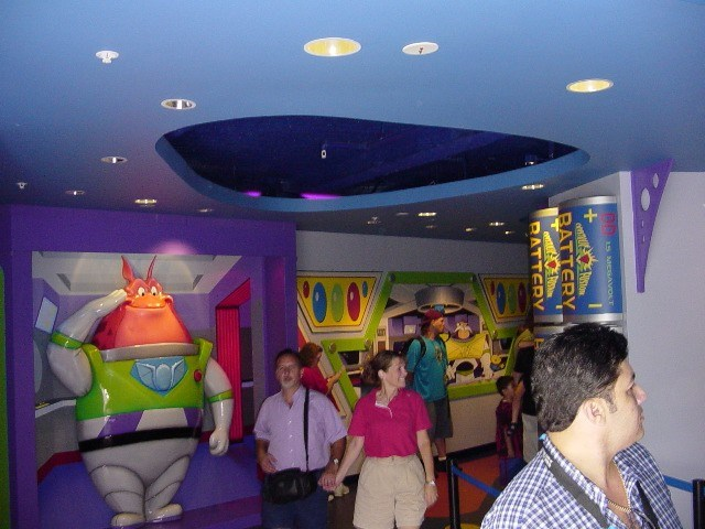 Buzz Lightyears Space Ranger Spin gift shop now complete