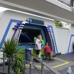 Buzz Lightyear meet and greet complete