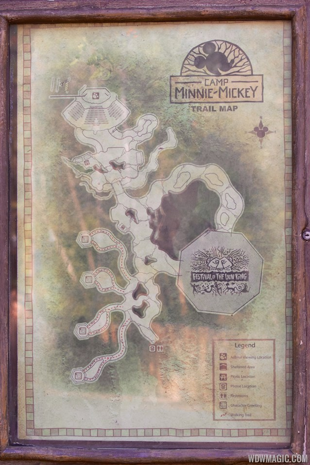 Camp Minnie-Mickey - Camp Minnie-Mickey - Trail map