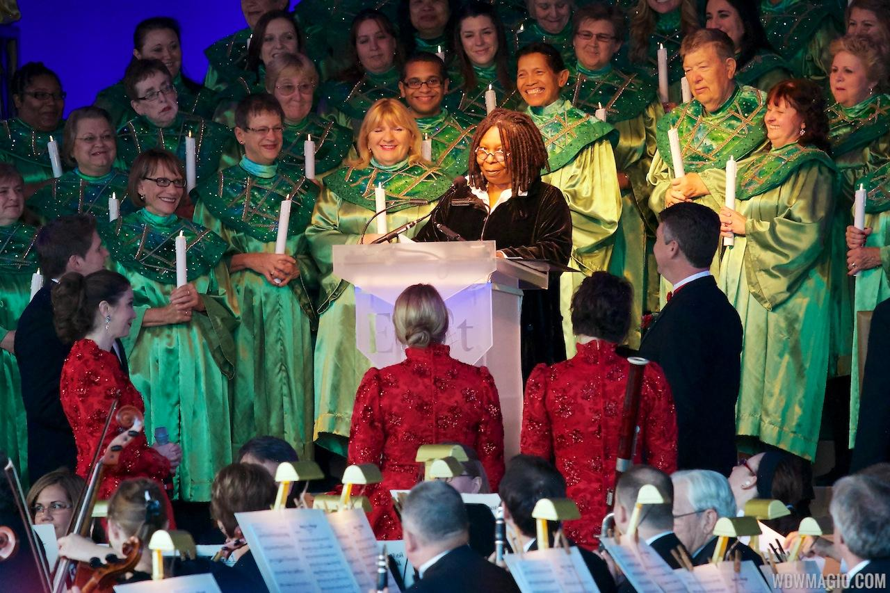 Whoopi Goldberg at the Candlelight Processional