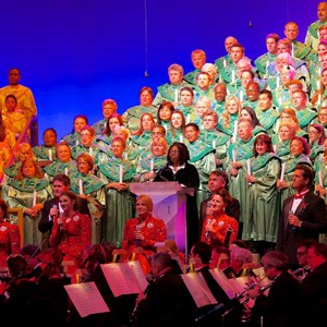 2 of 7: Candlelight Processional - Whoopi Goldberg at the Candlelight Processional