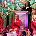 Candlelight Processional - Whoopi Goldberg and Voices of Liberty at the Candlelight Processional
