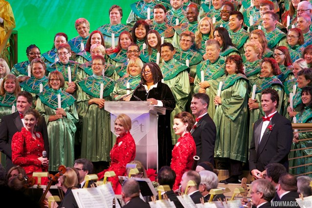 Candlelight Processional - Whoopi Goldberg and Cast Choir at the Candlelight Processional