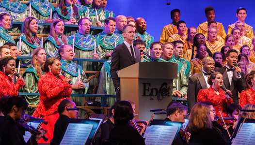 2017 Candlelight Processional narrators and dining package details