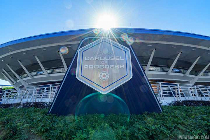 PHOTOS - New marquee sign at the Carousel of Progress