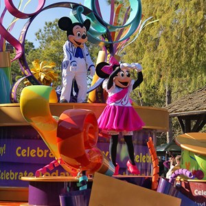 5 of 36: Celebrate A Dream Come True - Celebrate a Dream Come True Parade - Mickey and Minnie Mouse