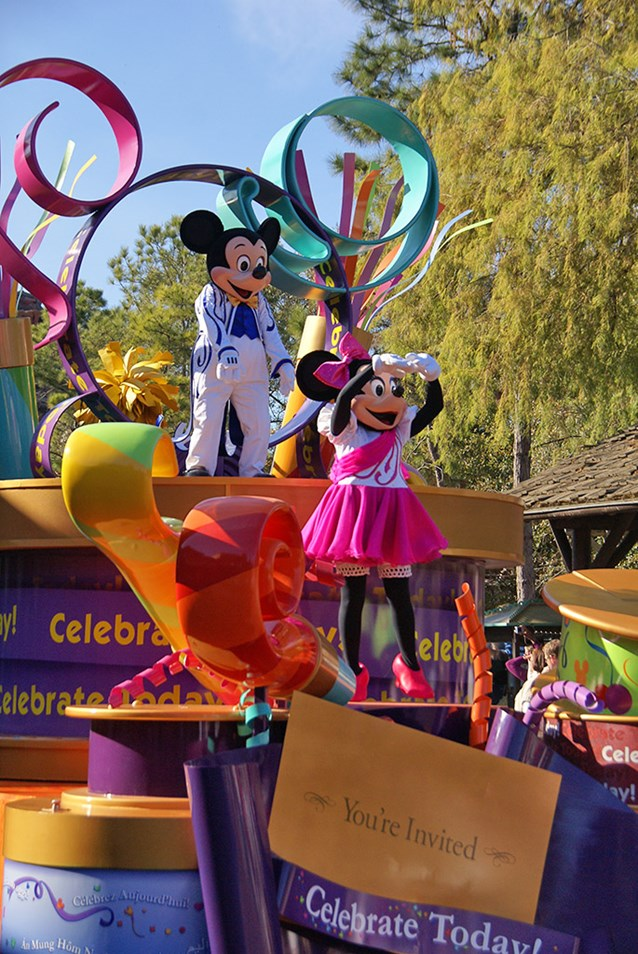 Celebrate A Dream Come True - Celebrate a Dream Come True Parade - Mickey and Minnie Mouse