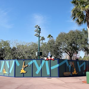 1 of 3: Character Meet and Greets at Disney's Hollywood Studios - New Studios Meet and Greet location construction